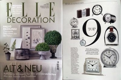 LEFF Tube in der ELLE Decoration